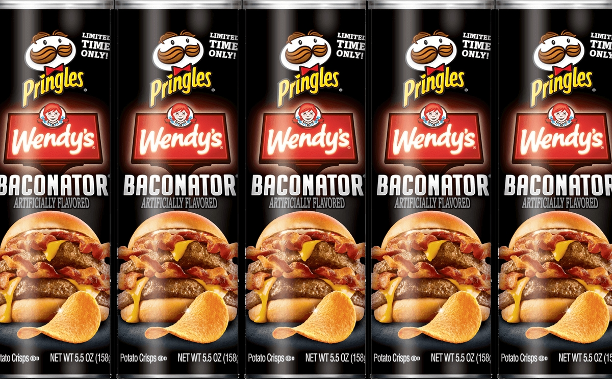 pringles wendys baconator cans