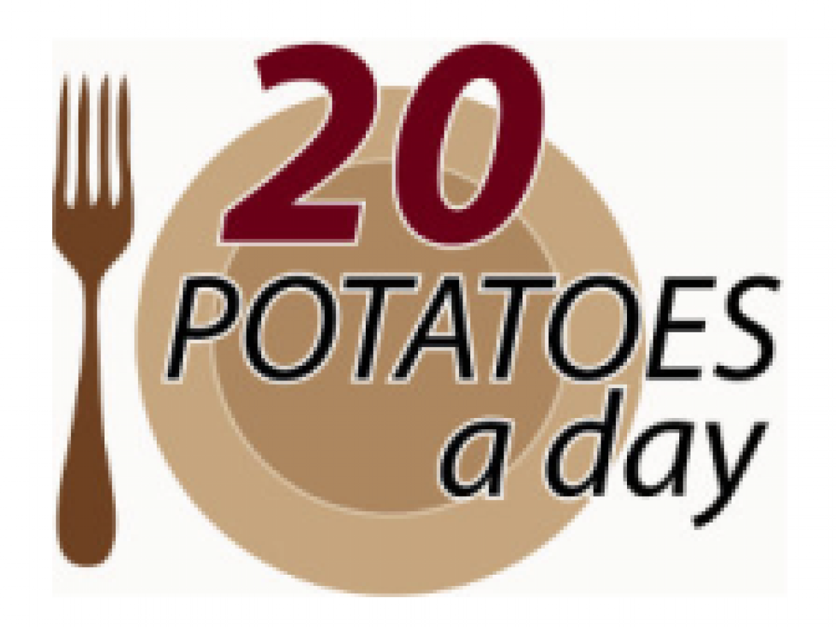 20 potatoes a day