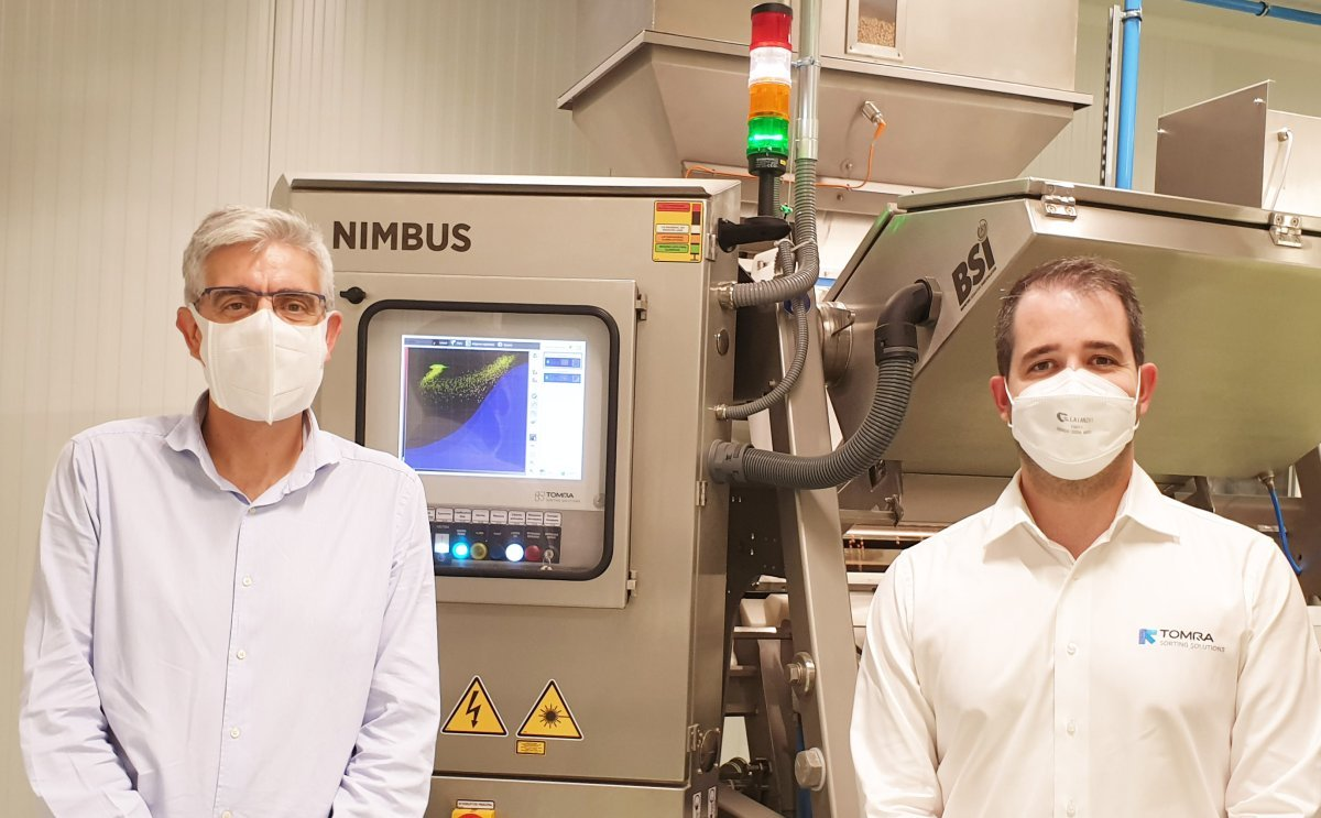 Legumbres Selectas Sierra Nevada, Calidad y Seguridad Alimentaria Gracias a la Nimbus BSI+ de Tomra Food