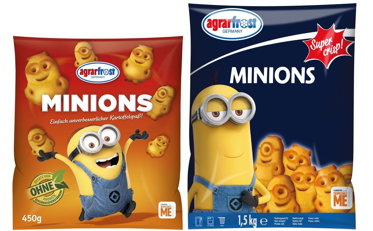 Agrarfrost presents Crunchy Riffled Frites and 3D Potato Minions at Anuga 2019