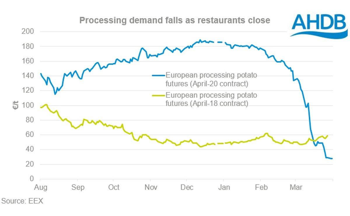 COVID-19 crashes European potato processing
