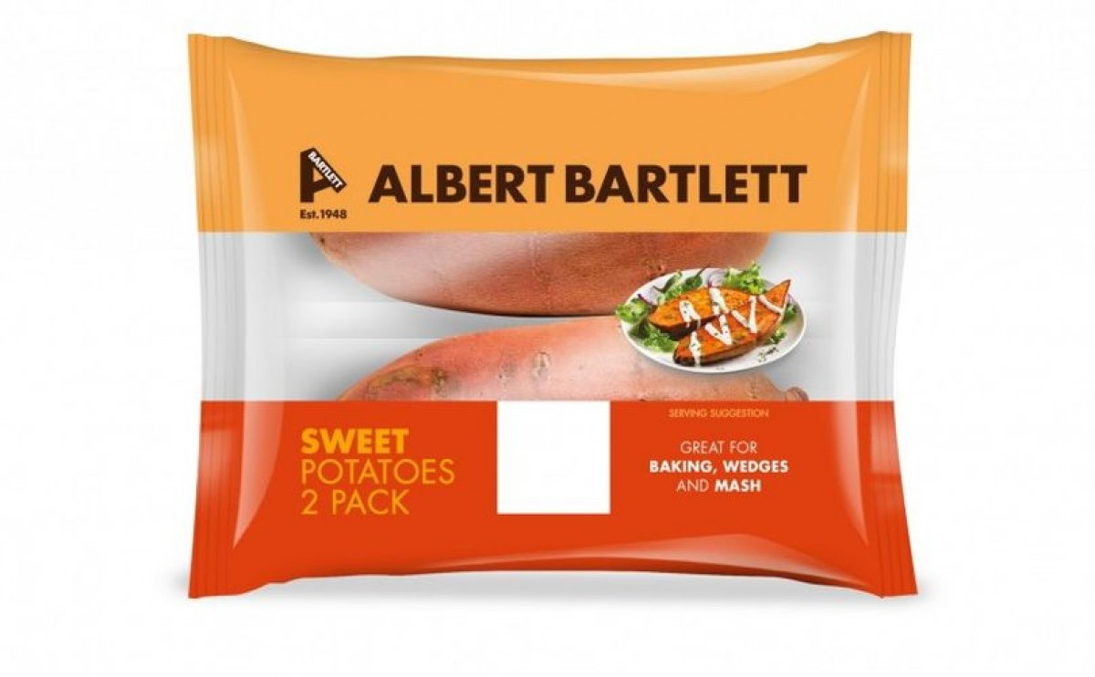 Potato company Albert Bartlett brings branded sweet potatoes to the United Kingdom