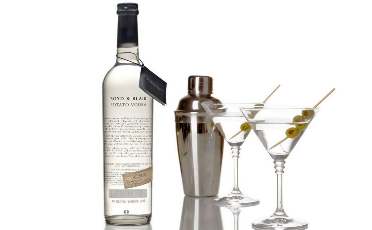 Boyd & Blair Potato Vodka Ranked Top Vodka in Inaugural Ultimate Spirits Challenge Top 100 Spirits List