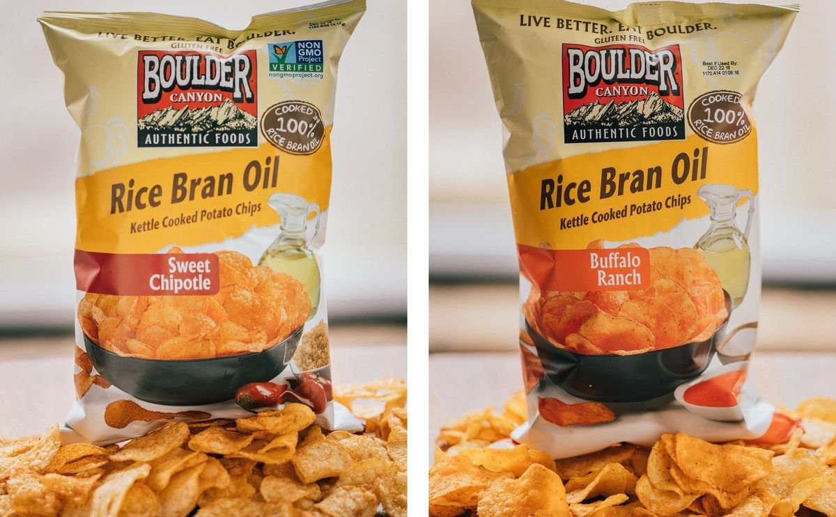 Two new flavors added to Boulder Canyon® Kettle Chips Cooked In Rice Bran Oil