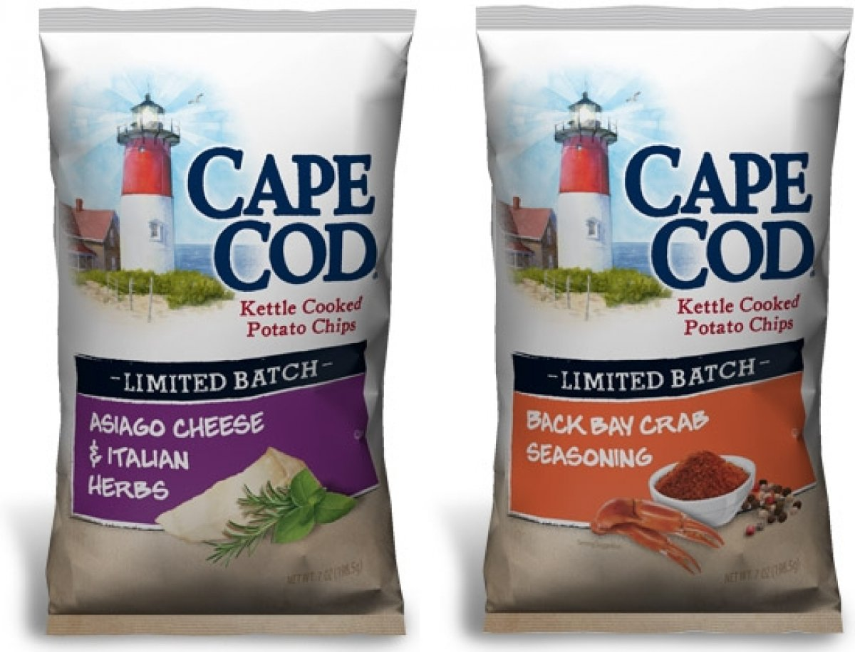 Cape Cod Potato chips launches two limited batch flavors