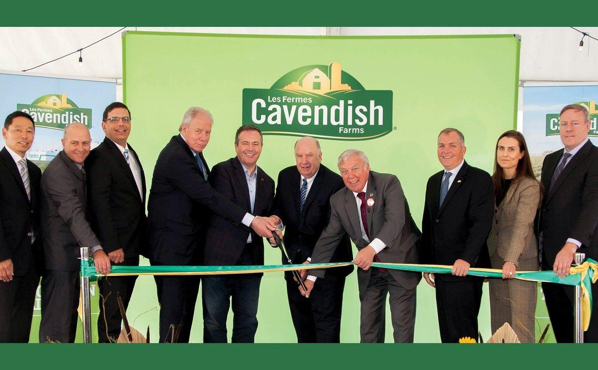 Frozen Potato Processing Plant of Cavendish Farms in Alberta oficially open