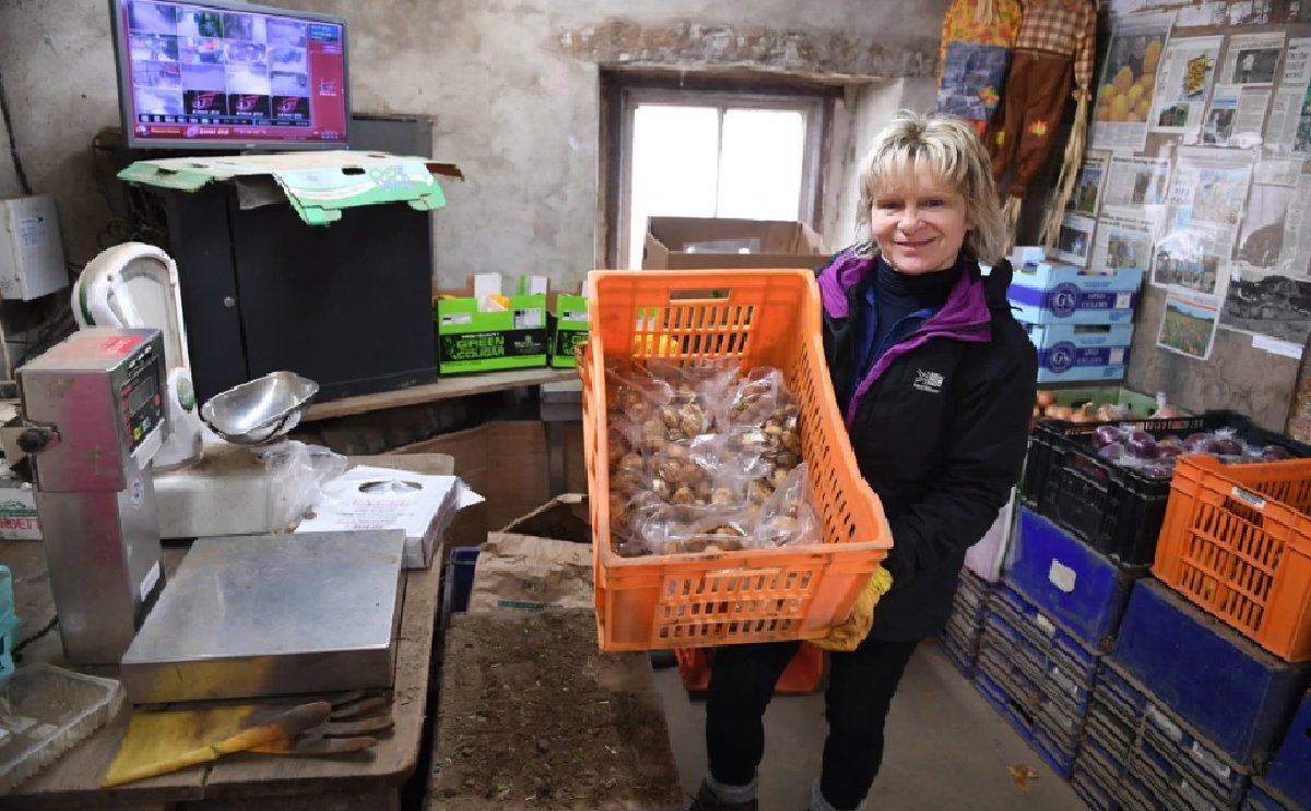 Christine Hellio, from Manor Farm in St Ouen, Jersey