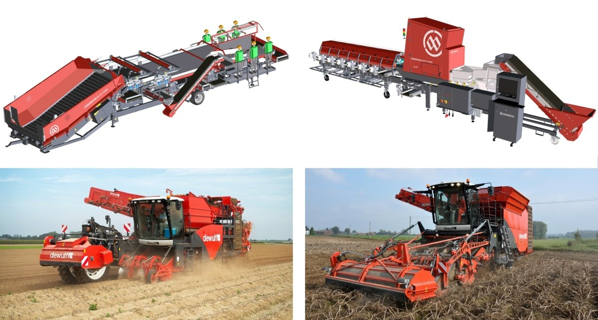 Some of the innovations Dewulf - Miedema will present at PotatoEurope 2016 in France