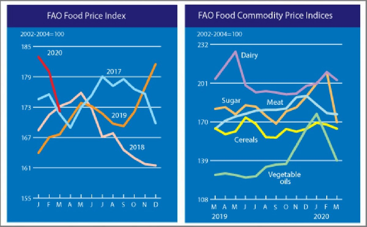 FAO Food Price Index fell further in March