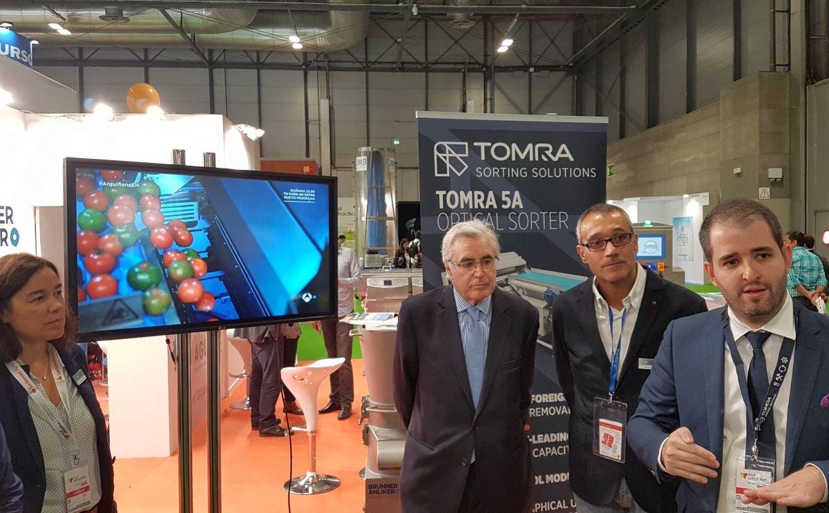 Tomra Food, Compac y BBC Technologies Muestran Nuevas e Innovadoras Soluciones en Fruit Attraction 2019