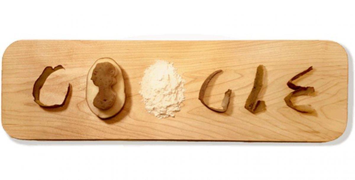 Today's Google Doodle celebrates Potato Processing Pioneer Eva Ekeblad