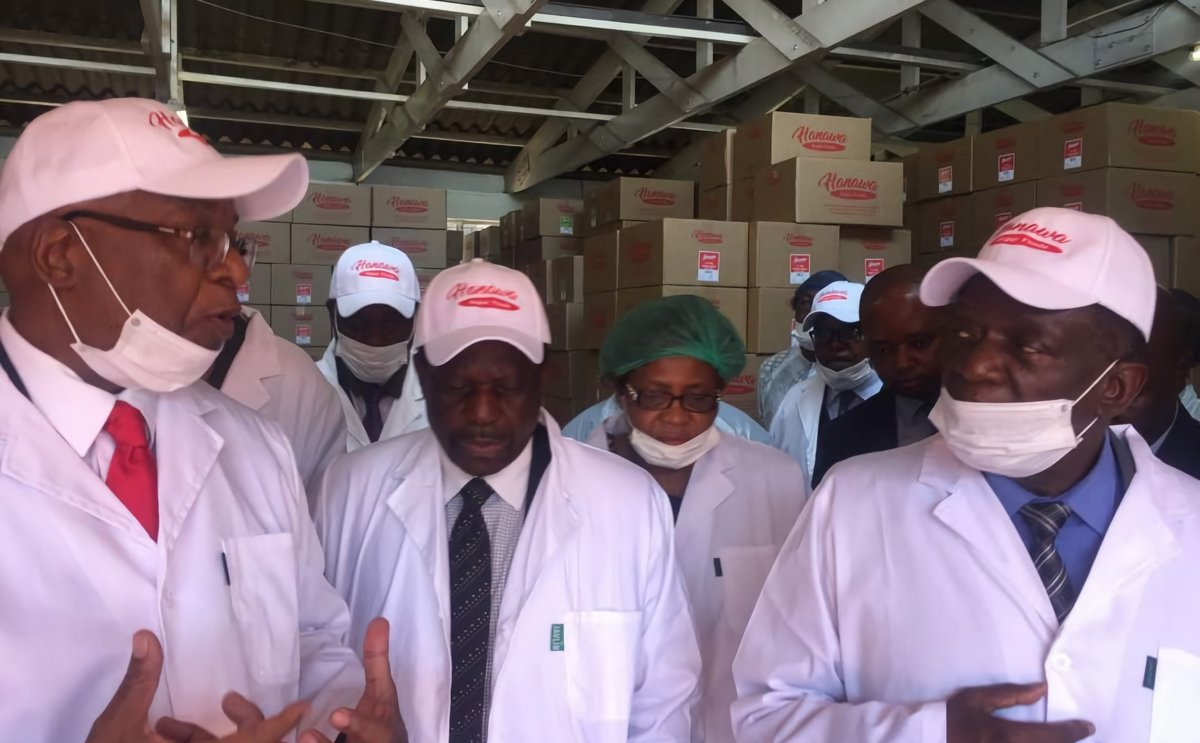 Potato Chip manufacturer Hanawa Super Foods contracts 1000 farmers in Zimbabwe