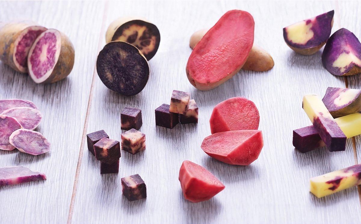 Colourful Perupas of potato company HZPC nominated for Fruit Logistica Innovation Award 2016