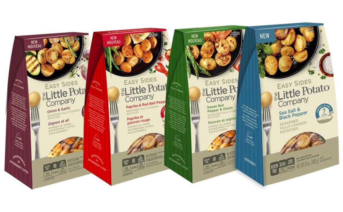 The Little Potato Company presents 'Easy Sides' - ready-in-minutes potatoes - at PMA Fresh Summit