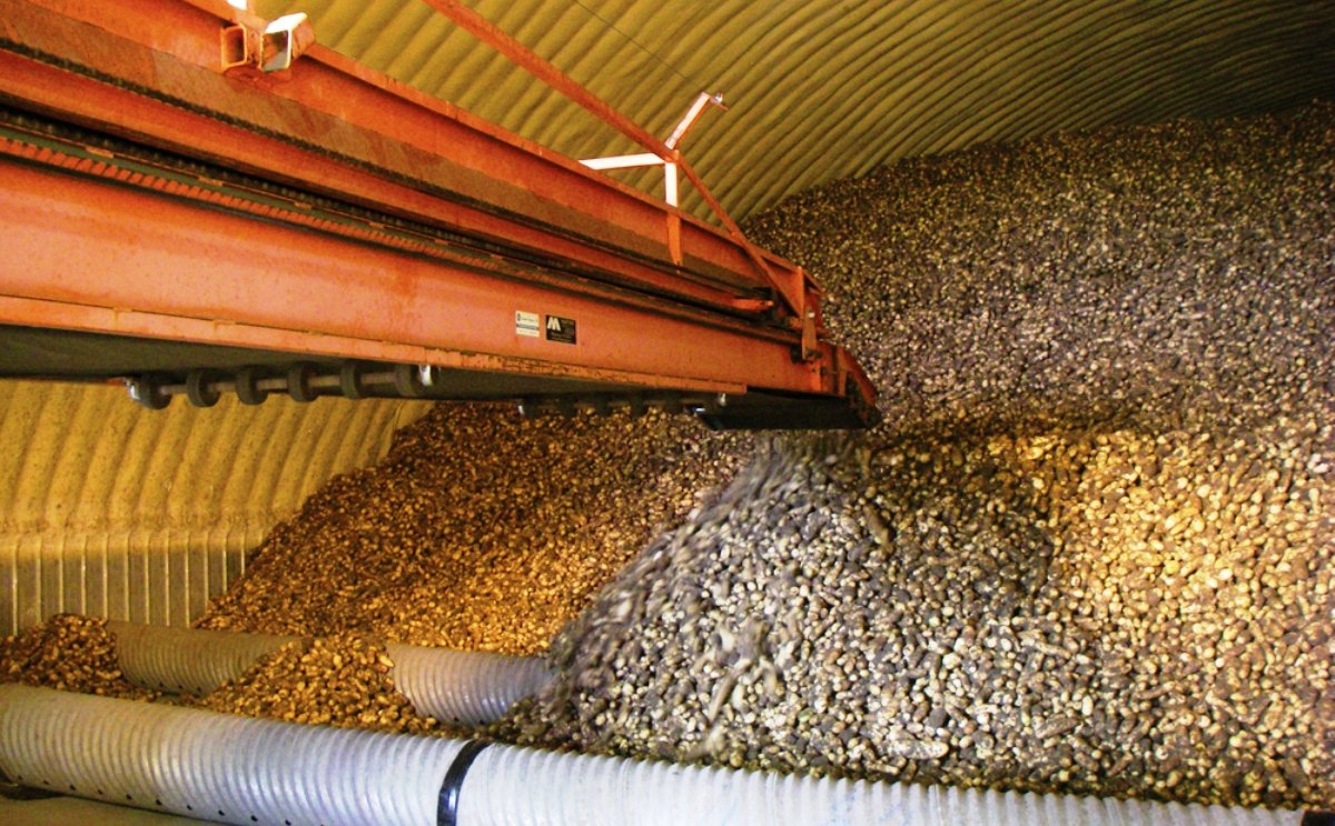 Producers were reporting storage concerns this winter as they struggled with frost-damaged potatoes and extreme cold.