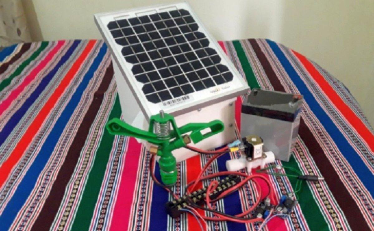 ¡Gran aporte! Estudiantes peruanos crean máquina que protege a los cultivos de las heladas