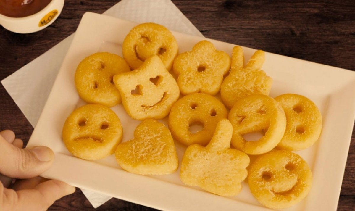 McCain Foods brings Emoji shaped Potato Specialties to Brazil
