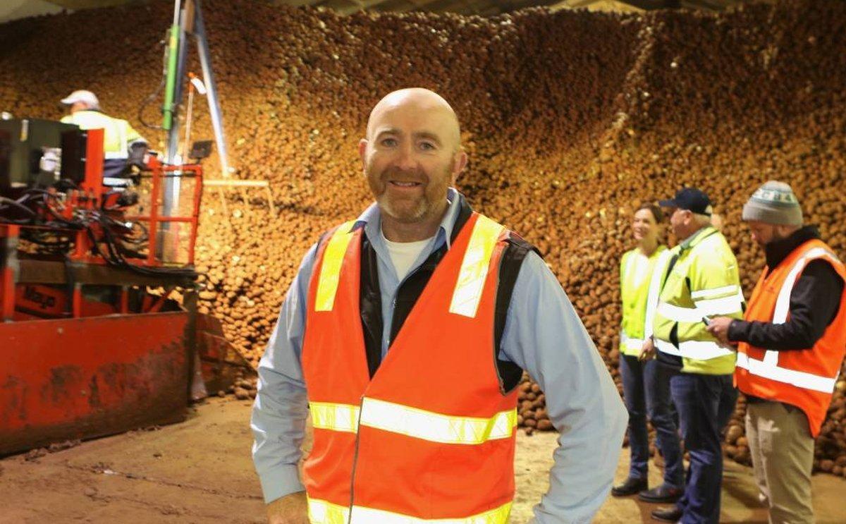 McCain Foods opens potato storage facility in Tasmania
