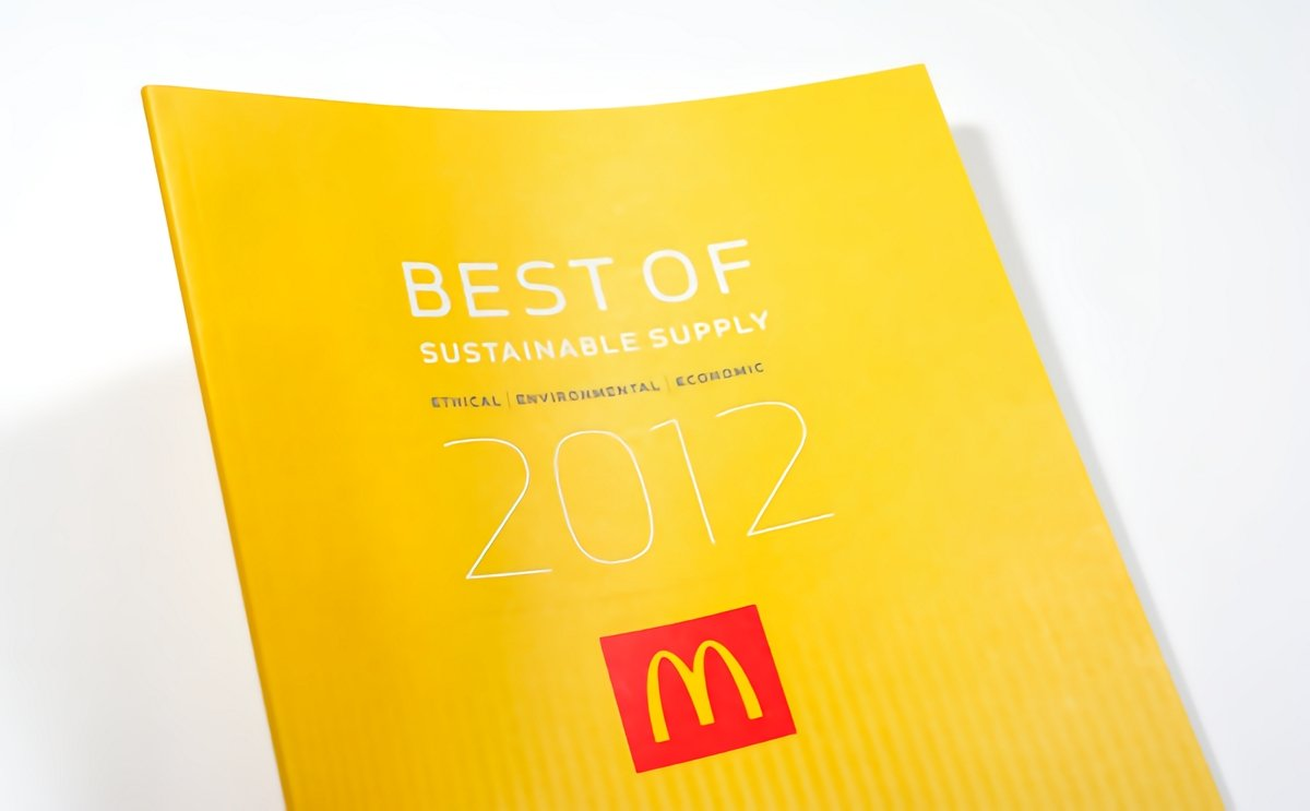 McDonald's best of sustainable supply 2012