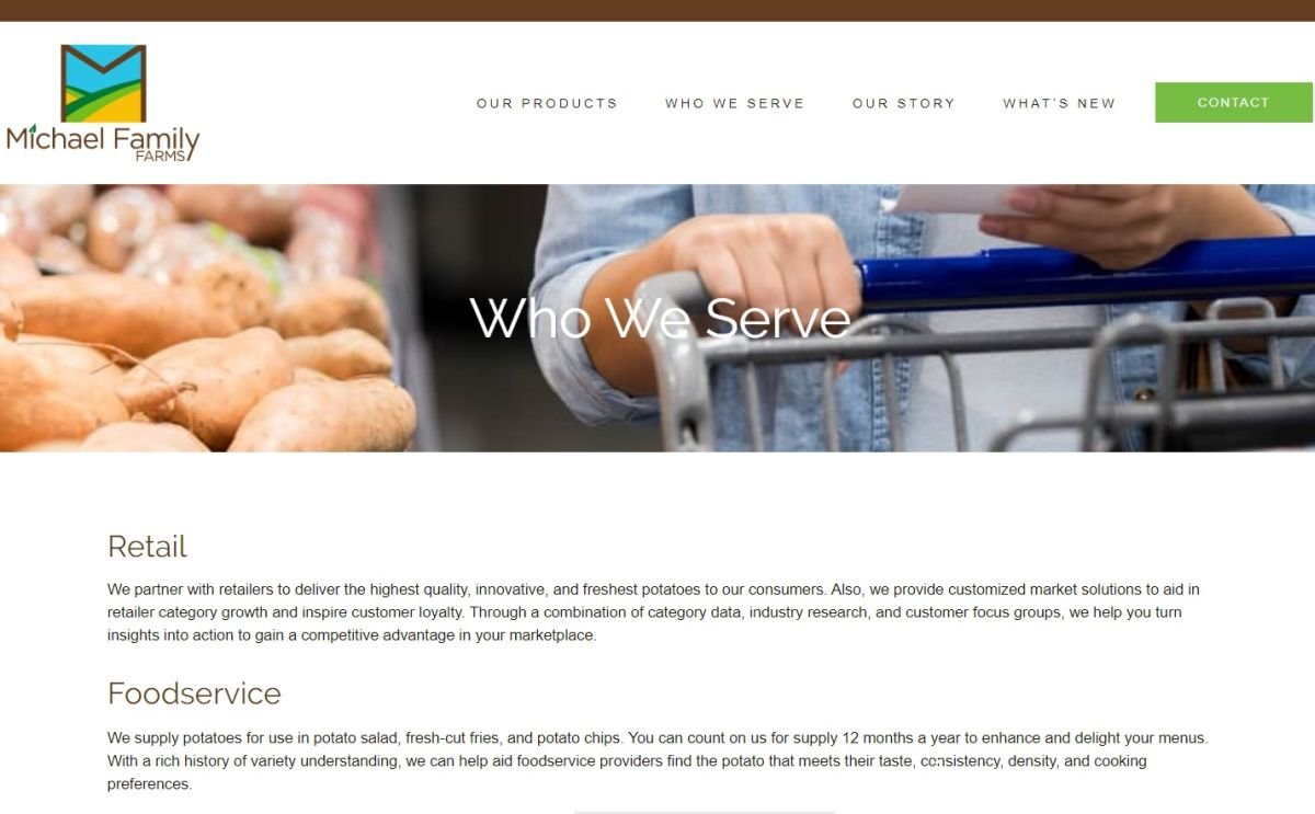 Michael Family Farms launches new website to help educate consumers on products