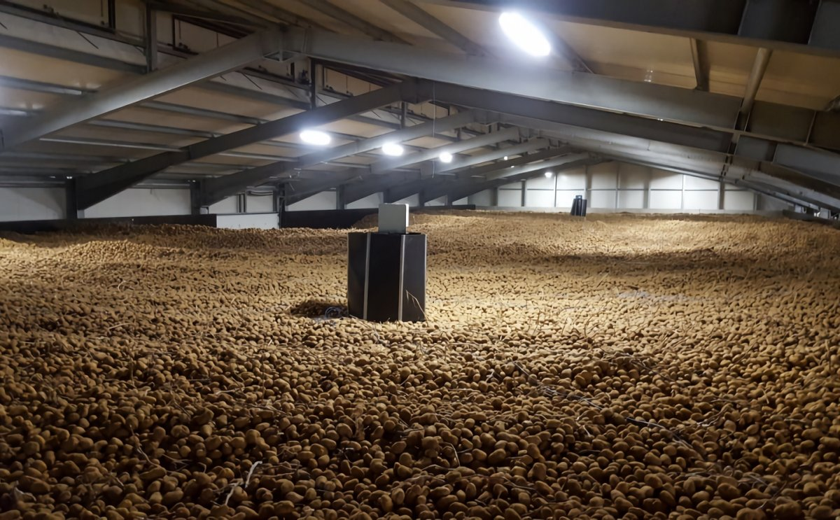 Mooij Agro builds potato storage with humidification for Lamb Weston Grower in Germany