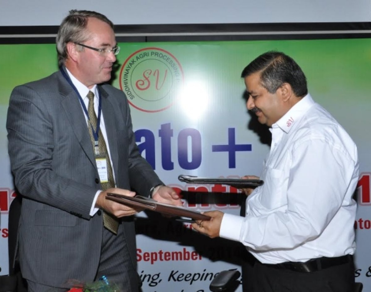 SV-Agri and Mooij Agro start Joint Venture in India
