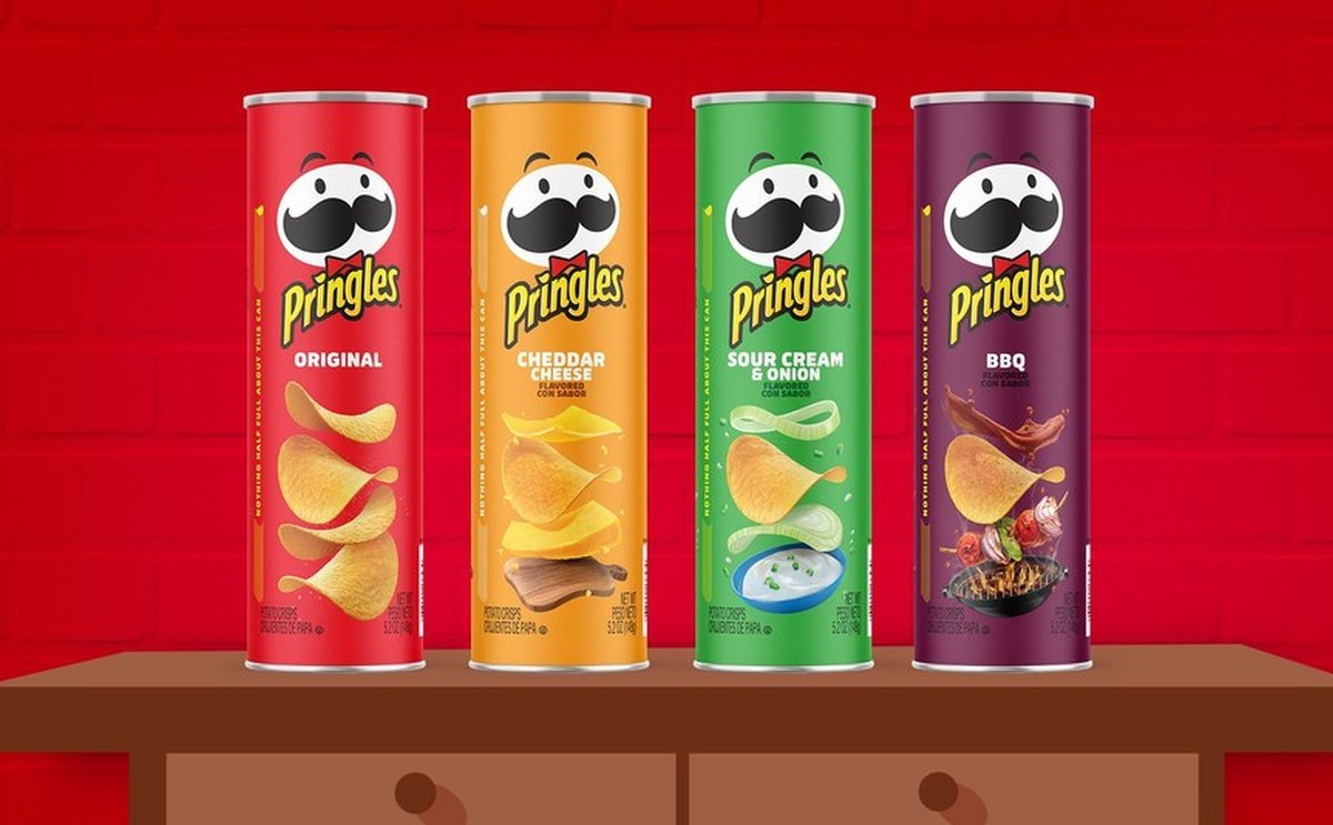 Pringles® Stacks The End Of 2020 With New, Refreshed Brand Look And Feel