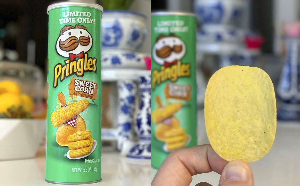 Pringles now offers Sweet Corn Flavored Chips