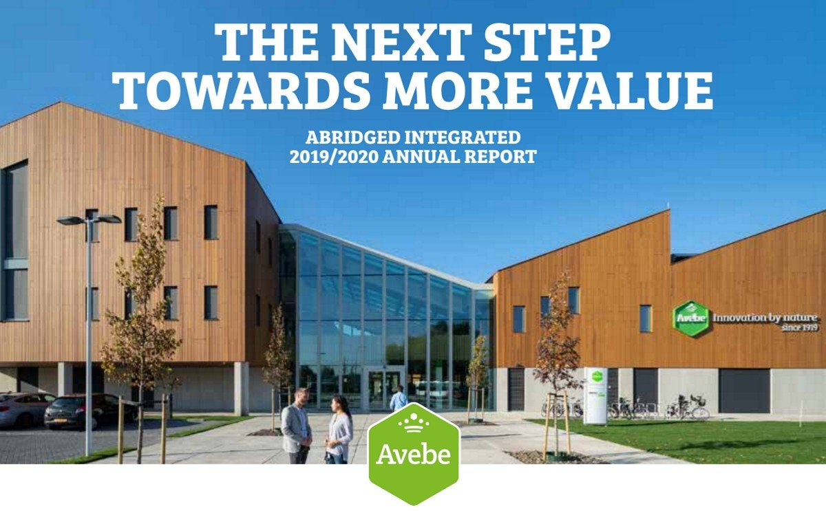 Royal Avebe publishes its integrated annual report 2019/2020