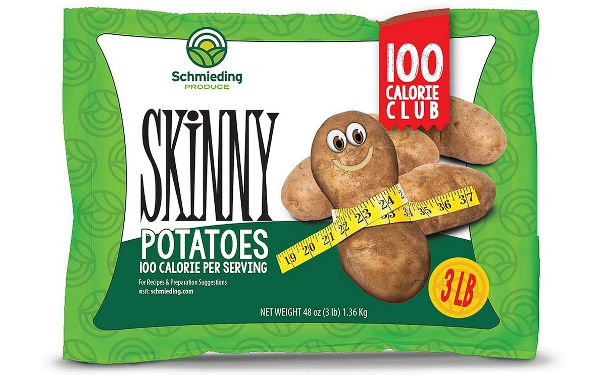 Schmieding Produce Launches New 100 Calorie- Skinny Potato