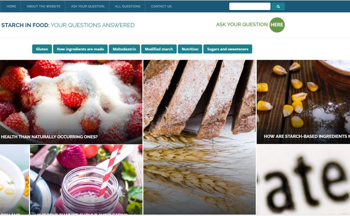 Starch-based Food ingredients made simple with this Q&A by Starch Europe