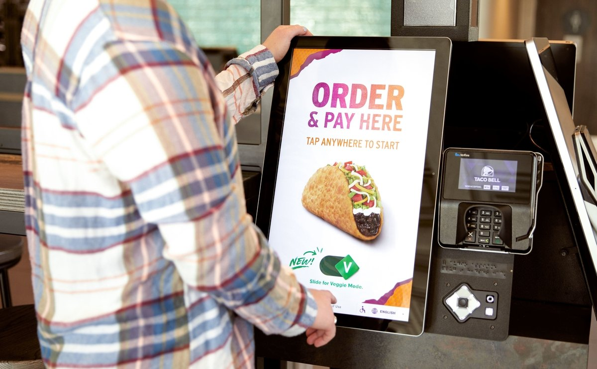 Taco Bell introduces 'Veggie Mode' on its self-service ordering kiosks in the United States