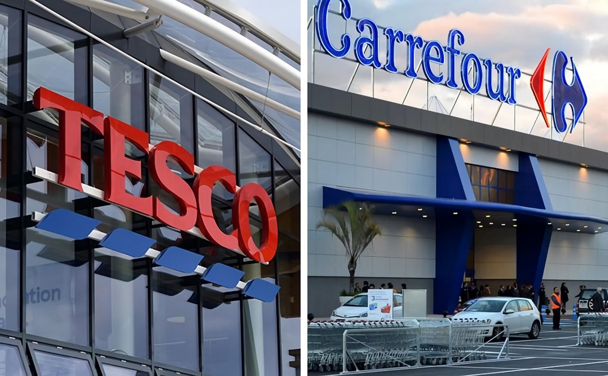 European retailers Tesco and Carrefour to create strategic alliance to deal with global suppliers