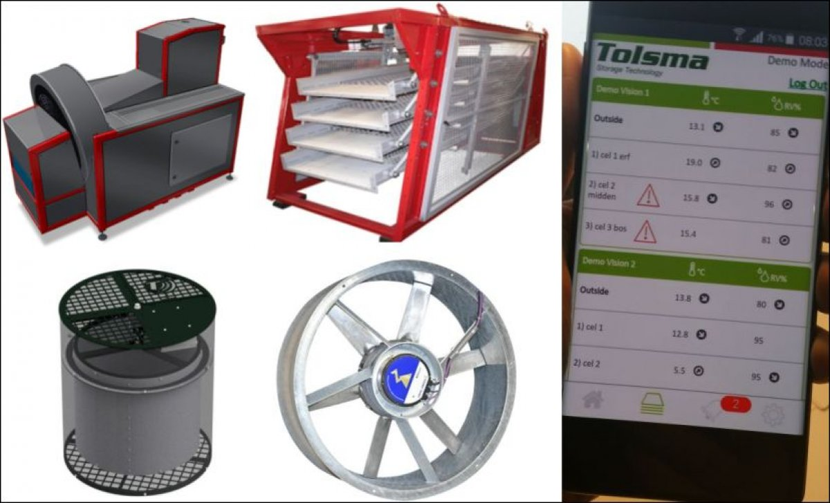 Tolsma-Grisnich shows Potato Storage Innovations at Agritechnica