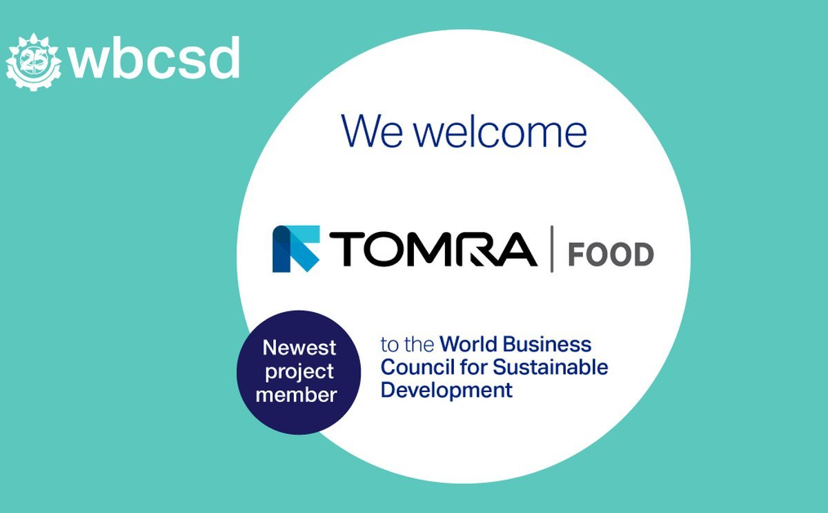 TOMRA Food joins World Business Council for Sustainable Development (WBCSD)