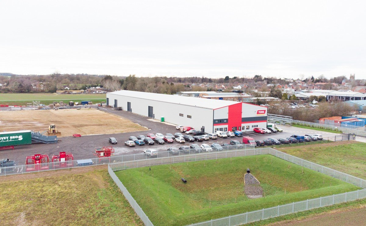 Tong pushes forward with second phase of New Factory build