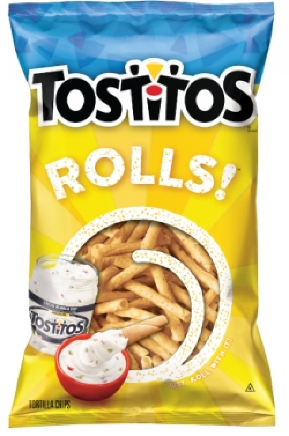 Pepsico introduces Tostitos Rolls! Tortilla Chips