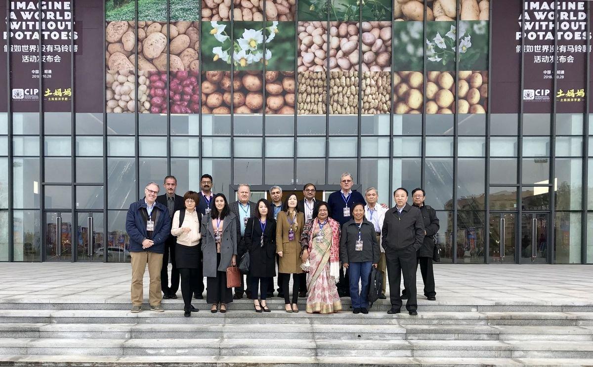 World Potato Congress participates at the Potato Conference in Zhaotang, China