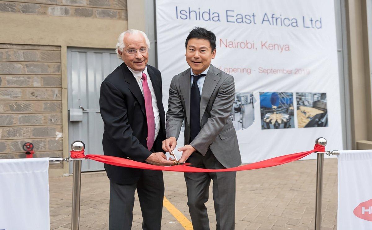 Packaging machinery manufacturer Ishida opens office in Nairobi, Kenya