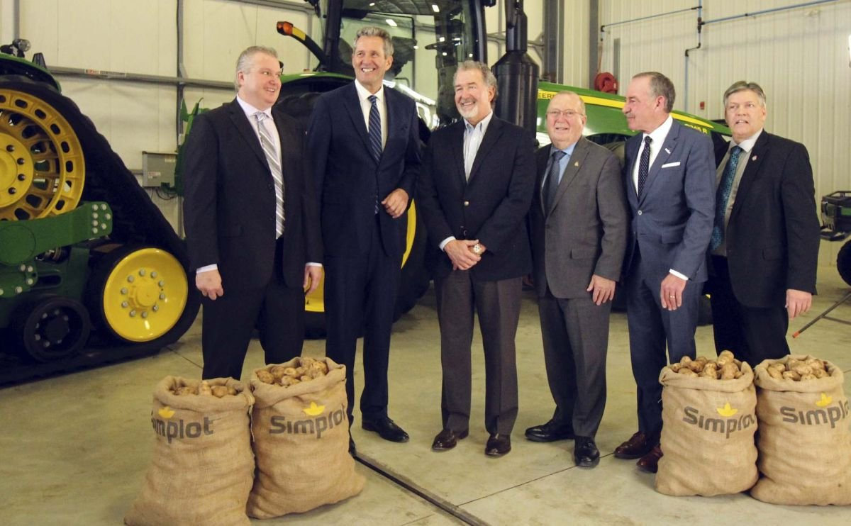J.R. Simplot announces major expansion of its Manitoba Potato Processing operations