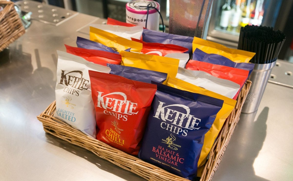 Crisp maker Kettle could be sold after US food giant owner Campbell hired advisers to assess the future of the snack brand (Courtesy: Steve Parsons / Press Association)