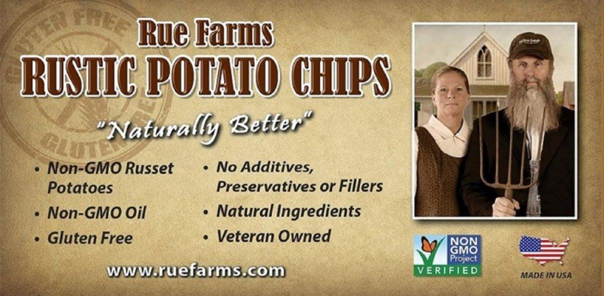 Rue Farms Rustic potato Chips