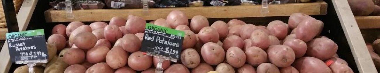 Potatoes in Retail