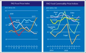 The FAO Food Price Index firmer for the second consecutive month in a row