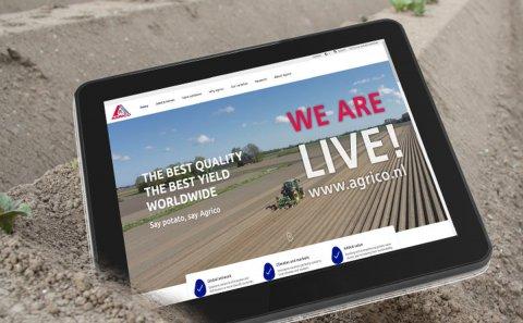 Milestone Digital Transformation Agrico: New Website Live