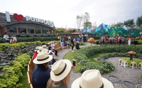 'International Potato Center and Peru Joint Honorary Day' theme event held at Beijing horticultural expo