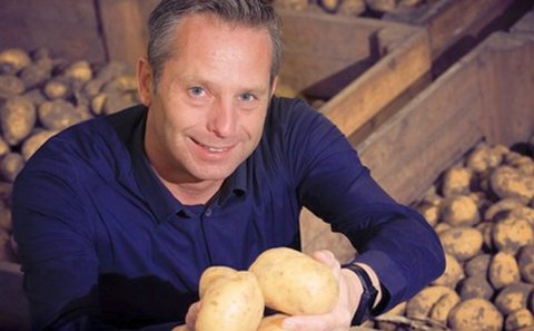 Leon van den Oord, Jac van den Oord Potatoes, the Netherlands 'When it's cold, demand shifts to starchy potatoes for mash right away'