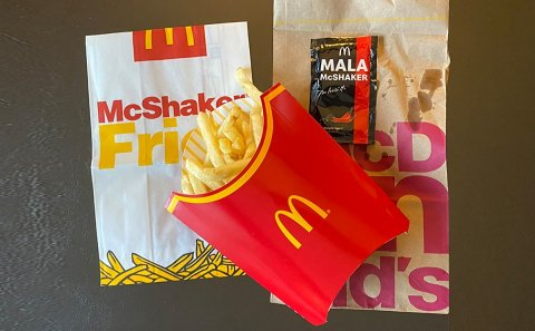 AsiaOne: 'We tried McDonald's new Mala McShaker fries and it's addictively good'