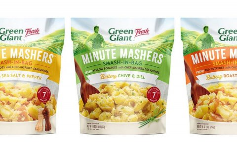 Potandon introduces Minute Mashers: quick-and-easy shelf-stable mashed potatoes