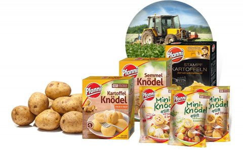 Pfanni potato products